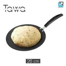 26 Cm Concave Non Stick Round Crepe Tawa Roti Chapati Dosa Pan