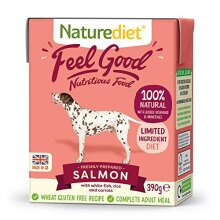 Naturediet Feel Good Salmon and White Fish Complete Wet Food 390g x 18