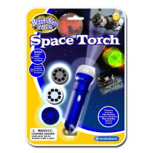 Brainstorm Toys E2008 Space Torch and Projector, Blue
