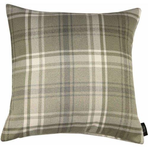 (Beige, 60cm x 60cm) McAlister Textiles Angus Tartan Check Cushions