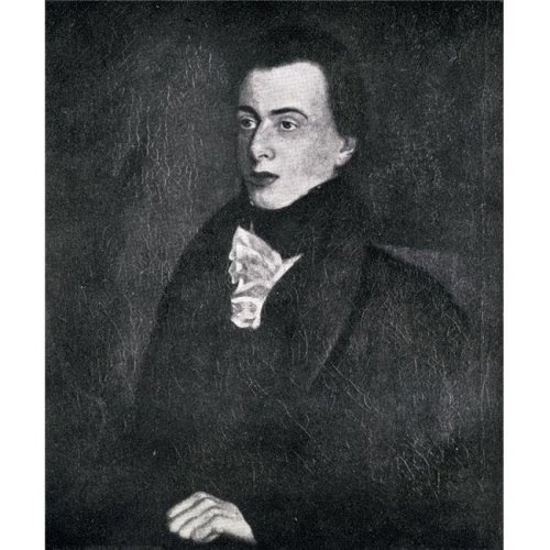 George Borrow 1803-1881. English Writer & Traveller From The Painting by John Borrow Poster Print, Large - 28 x 32