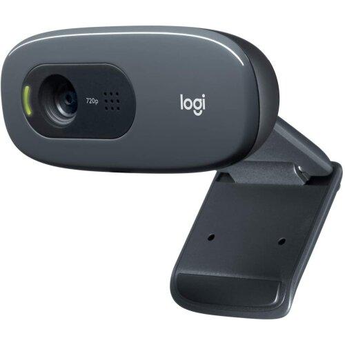 Logitech C270 HD Webcam | 720p 30fps High Definition