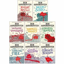 Ben Aaronovitch Rivers of London Series Collection 8 Books Set