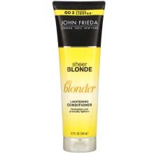John Frieda, Sheer Blonde, Go Blonder, Lightening Conditioner, 245ml