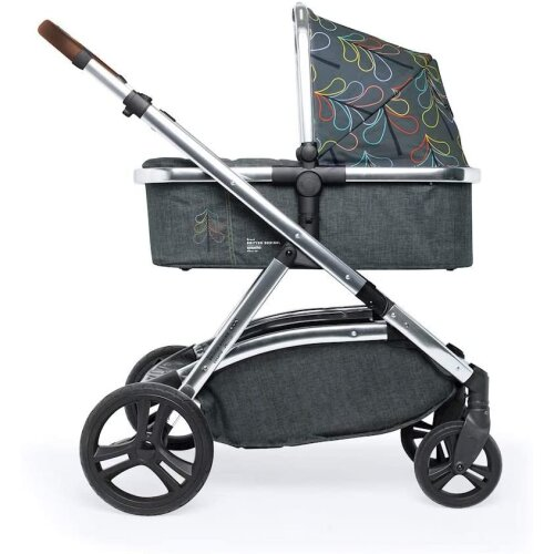 Cosatto Wow XL 3-in-1 Pram and Pushchair - From Birth - 25 kg, with Tandem Mode and Buggy Board (Nordik)