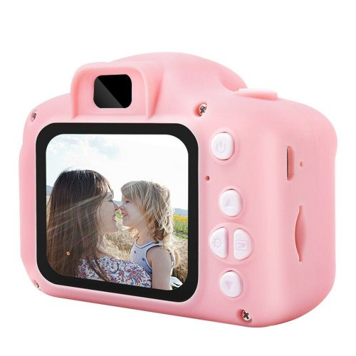 Children Camera Mini Digital Photo Video Intelligence Color New year Gift