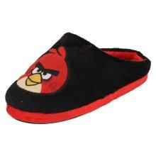 Infant/Junior Boys Angry Birds Velour Slipper