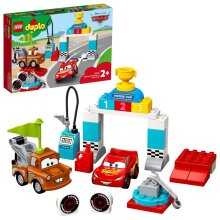 LEGO DUPLO Cars Lightning McQueen's Race Day Playset 10924 Age 2+ 42pcs