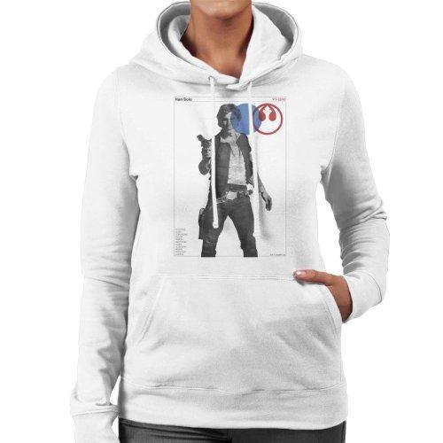 Star Wars Han Solo YT 1300 Millennium Falcon Women's Hooded Sweatshirt