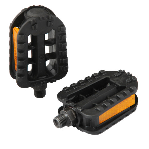 """Coyote 1/2"""" Black Kids Junior Childs Boys Girls Replacement Pedals"""