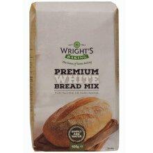 Wrights Baking Premium White Bread Mix - 5x500g