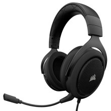 Stereo Gaming Headset, Custom 50 mm Neodymium Speakers, Detachable Unidirectional Microphone, Lightweight Build with PC, Xbox One, PS4