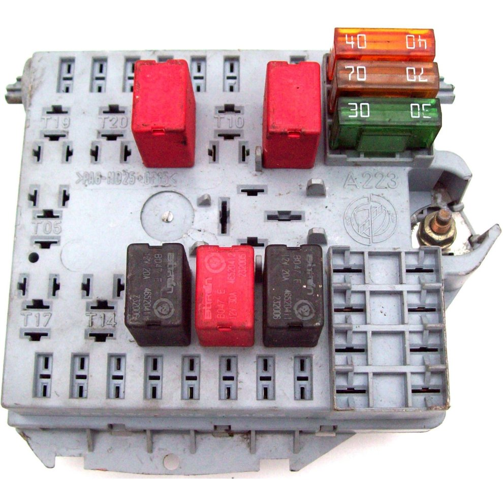 Used Fiat Punto Fuse Box Fusebox Fire 46835589 On Onbuy