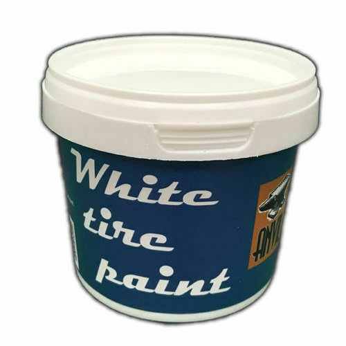 White Wall Tire Paint - 250ml