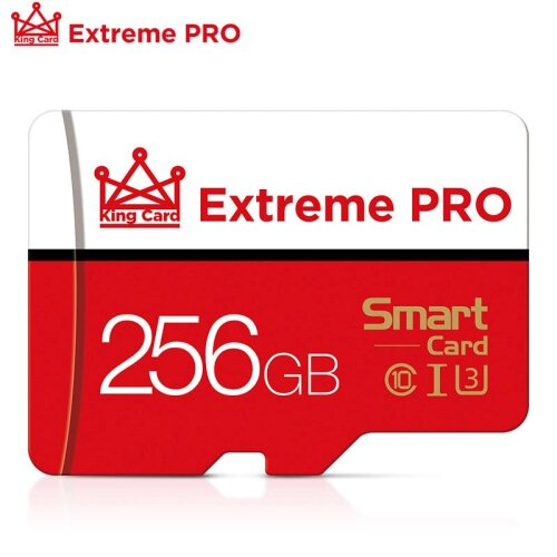 256GB Micro SD SDHC Class 10 UHS-I Memory Card + Adapter