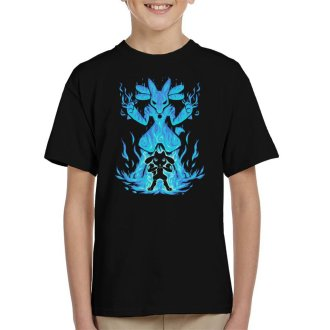 The Aura Within Lucario Riolu Kid's T-Shirt