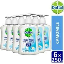 Dettol E45 Camomile Antibacterial Hand wash x 6 pcs