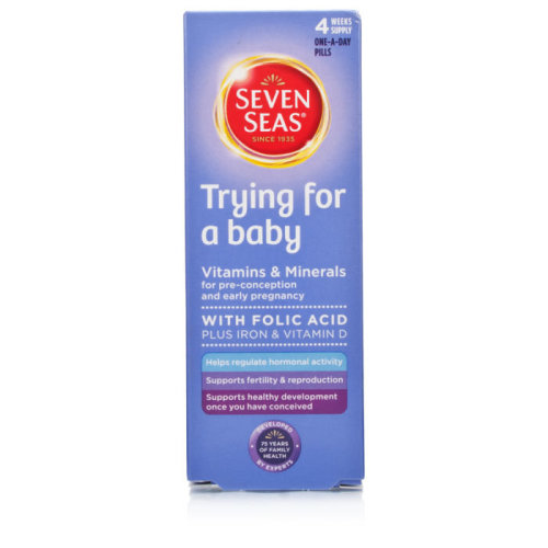 Seven Seas Trying For A Baby Vitamins & Minerals - 28 Tablets