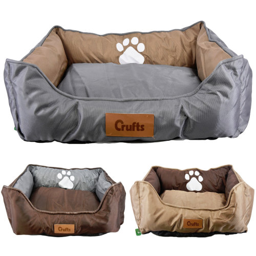 (Large) Crufts Waterproof Padded Pet Bed
