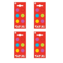 Tatiri Self Adhesive Wooden Spots (Pack of 4)