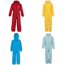 Trespass Childrens/Kids Button Rain Suit
