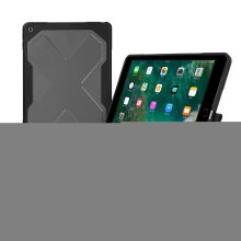 Case + Bluetooth Keyboard for iPad 9.7 2017/2018 & iPad 5- Zagg Rugged Messenger