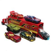 7PCS The Avengers Marvel Heroes Truck & Car Model Vehicle Kids Toy