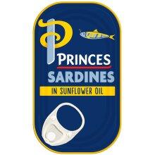 Princes Sardines In Sunflower Oil - 10x120g