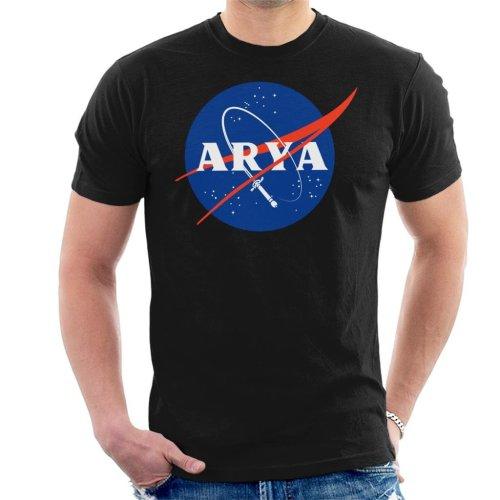 Game Of Thrones Arya Space Logo Men's T-Shirt