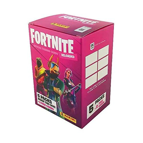 Panini Fortnite Reloaded Trading Card Collection Blaster Box
