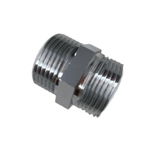 Niplex 3/4 heavy chrome-plated brass