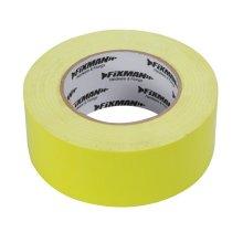 Fixman Heavy Duty Duct Tape Hi-vis 50mm x 50m - Duct Tape Heavy Duty Hivis 50mm -  duct tape heavy duty fixman hivis 50mm 188245