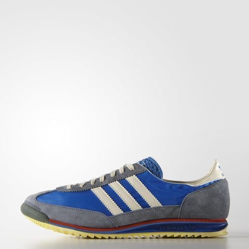 Adidas Originals SL72 Vintage Men's Sports Casual Trainer Shoes Blue