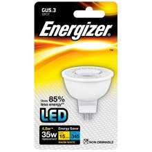 Energizer GU5.3 Warm White Blister Pack 4.8w [S8692]