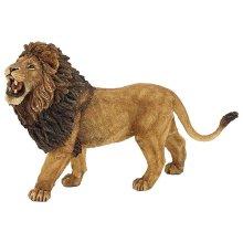 Papo Wild Animal Kingdom Figure, Roaring Lion