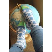 Polar Bear Patterned Sock