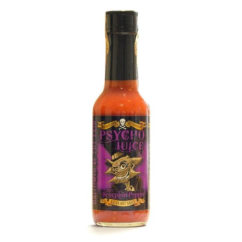 Psycho Juice 70% Scorpion Pepper Hot Chilli Sauce