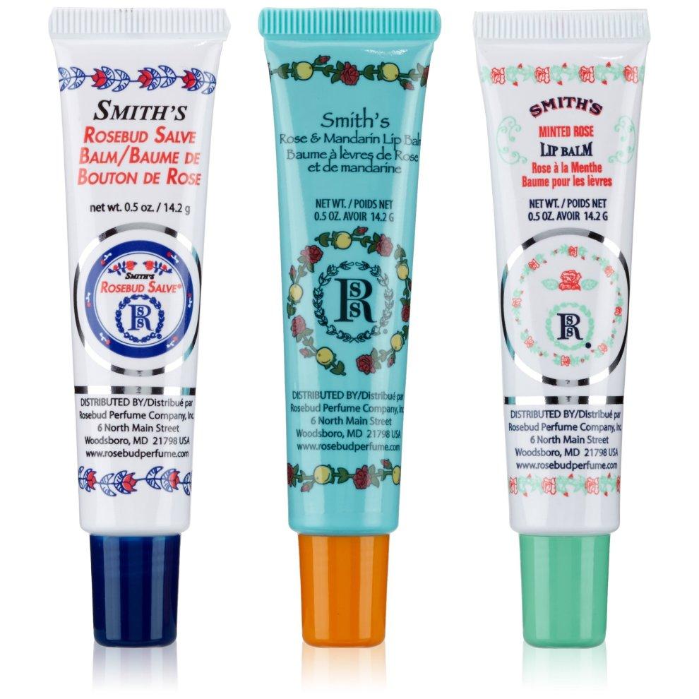 Rose & Co Rose Petal Salve Lip Balm Tube