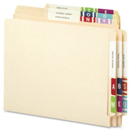 Color Coded Label, A, 100-PK, Red