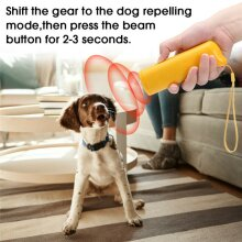 Powerful Ultrasonic Dog Repeller Anti Barking Outdoor For Pet Control Training