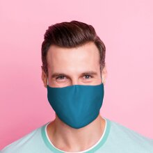 Blue Reusable Face Covering - Large X 1 Pack