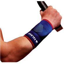 VULCAN SPORTS INJURY PAIN RELIEF BRACE BLUE NEOPRENE WRIST SUPPORT SHORT (3035)