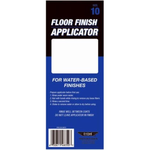 Ettore Products 33210 10 in. Microfiber Applicator, Smooth Even Finish