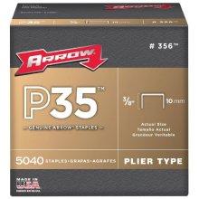 "Arrow P35 Staples Size: 3/8"" - 10mm Pack: 5040"