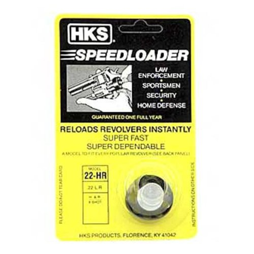 HKS 22HR Speedloader 22Lr Black Taurus 94,H&R