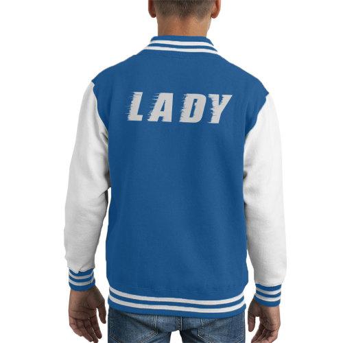 Lady Slogan Kid's Varsity Jacket