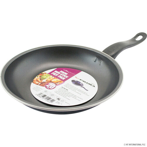 NEW 20CM NON STICK FRYING PAN COOKWARE BLACK KITCHEN HANDLE FRY PAN