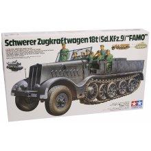 Tamiya 35239WWII Special Automotive 9Famo Half Chain, 18Ton (8) Model Kit Scale 1:35