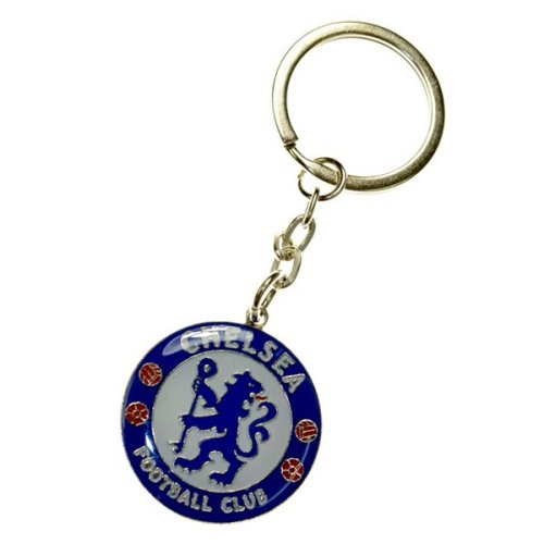 Chelsea Unisex Crest Keyring, Multi-colour - Keyring Fc Football Official Metal -  chelsea keyring fc crest football official metal