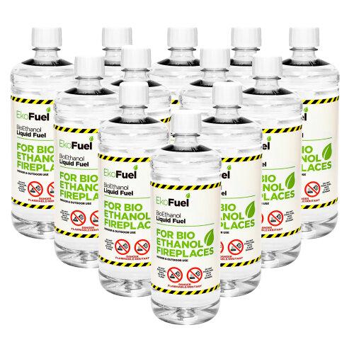 Premium BioEthanol Fuel for Fires (unscented)
